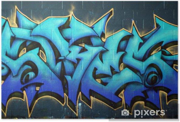 Plakat Ulica Graffiti spraypaint - Tematy