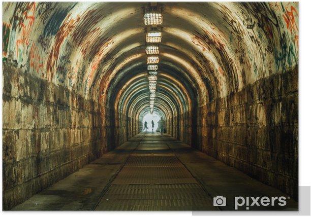 Plakát Urban podzemní tunel - Témata