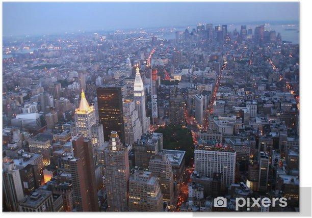 Plakat USA, Nowy Jork z Empire State Building -