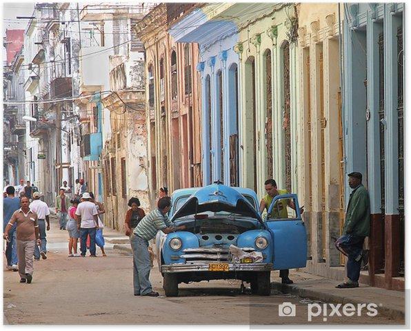 Plakat Utknęły w Hawanie - iStaging