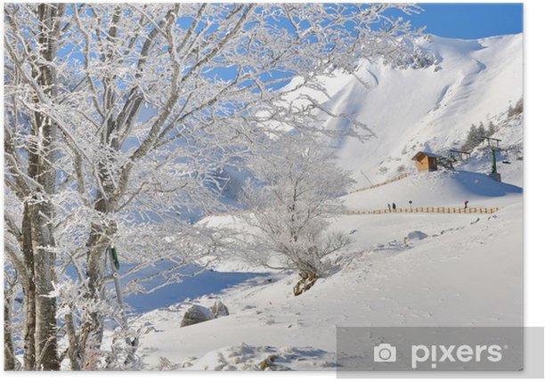 Plakát Vacances d'hiver - Prázdniny