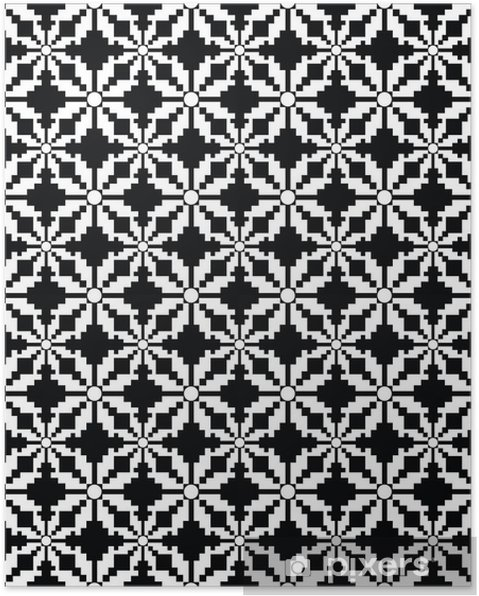 Plakát Vector seamless pattern - Pozadí