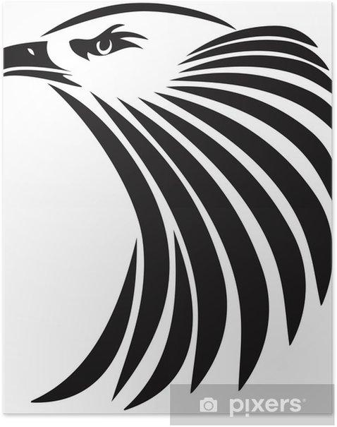 Plakát Vedoucí orla - Nálepka na stěny