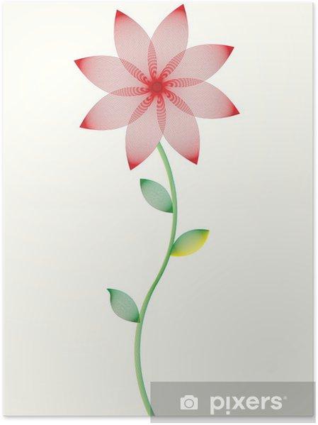 Plakát Vektor květinovým vzorem - Květiny