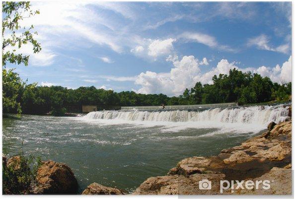 Plakát Velký vodopád - Přírodní krásy