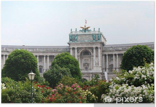 Plakat Vena.Hofburg - Miasta europejskie