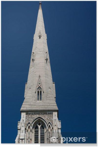 Plakát Věž kostela v Kodani - Evropa
