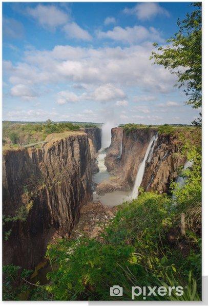 Plakat Victoria Falls, Zambia - Tematy