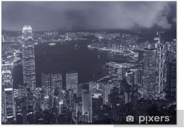 Plakát Victoria přístav v Hongkongu - Témata