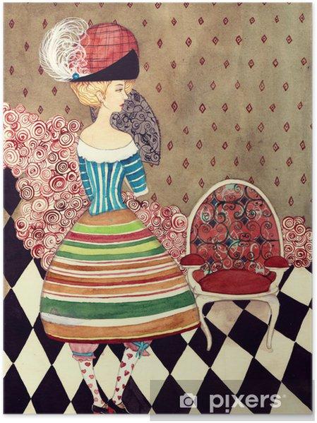 Plakát Víla dáma - Móda
