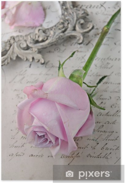 Plakat Vintage Rose - Tematy