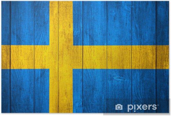 Plakát Vlajka Švédska - Témata