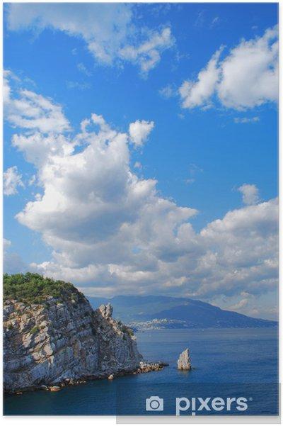 Plakát Vlaštovka hnízdo - Nebe
