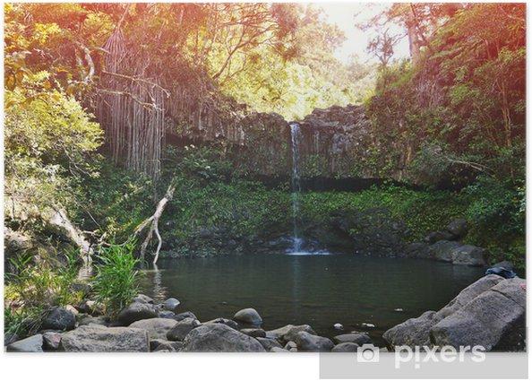 Plakát Vodopád na Havaji - Témata