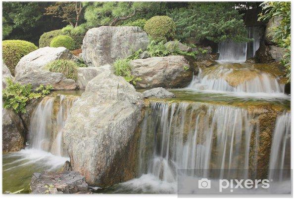 Plakát Vodopád - Asie