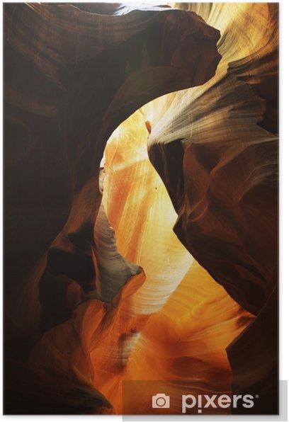 Plakat W Antelope Canyon - Ameryka