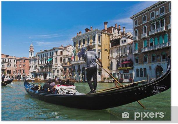 Plakat Wakacje, słońce, morze - Wenecja i Veneto (Adriatyk -Włochy) - Wakacje