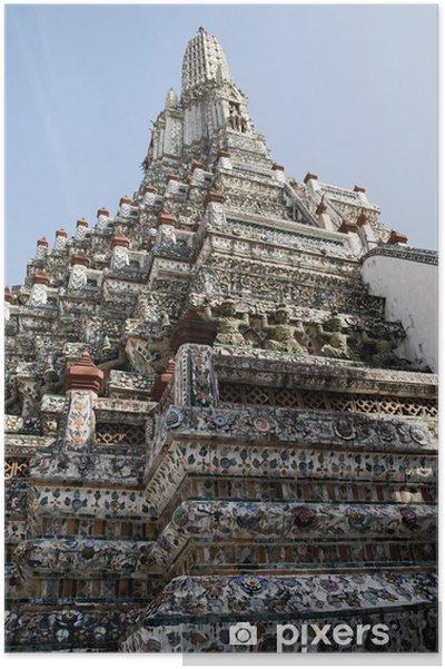 Plakát Wat Arun - chrám úsvitu - Asie