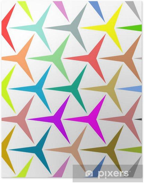 Plakat Wątek trójramienną gwiazdą - Przemysł ciężki