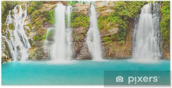 Plakat Waterfall panorama - Tematy