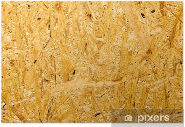 Plakat Wciśnięty drewniany panel bezszwowe tło - Tła
