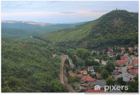 Plakat Węgierski krajobraz - Lasy