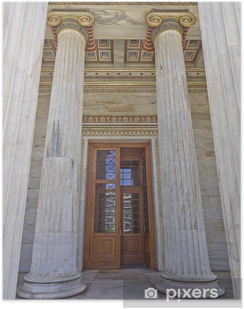 Plakat Wejście z National University of Athens, Greece - Edukacja