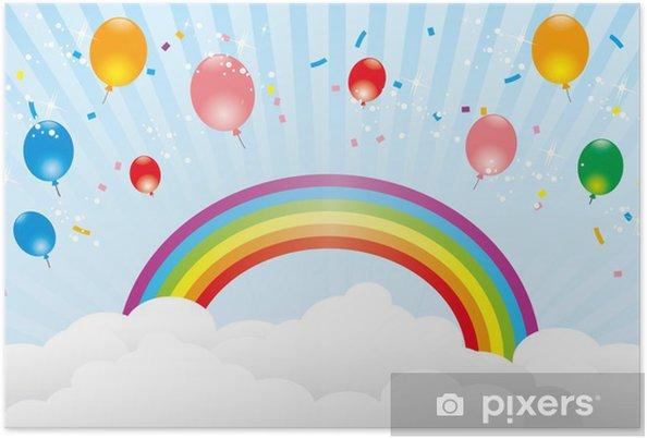 Plakat Wektor Balloon - Rozrywka
