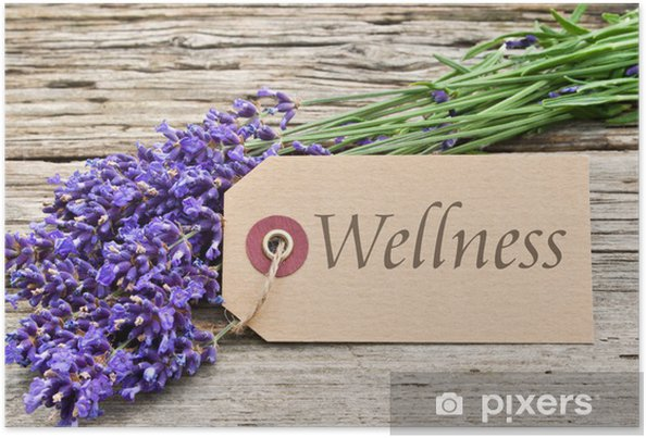 Plakat Wellness - Uroda i pielęgnacja ciała