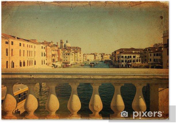 Plakat Wenecja - Grand Canal - Miasta europejskie