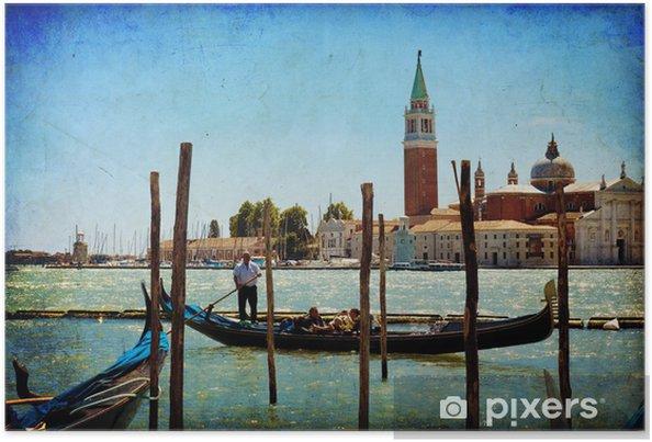 Plakat Wenecja, widok z San Giorgio Maggiore z San Marco - Tematy