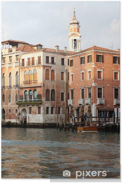Plakat Wenecja, Włochy - Miasta europejskie