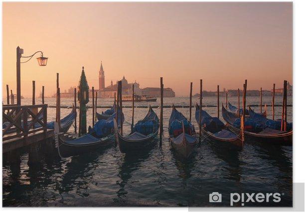 Plakat Wenecja - Wakacje