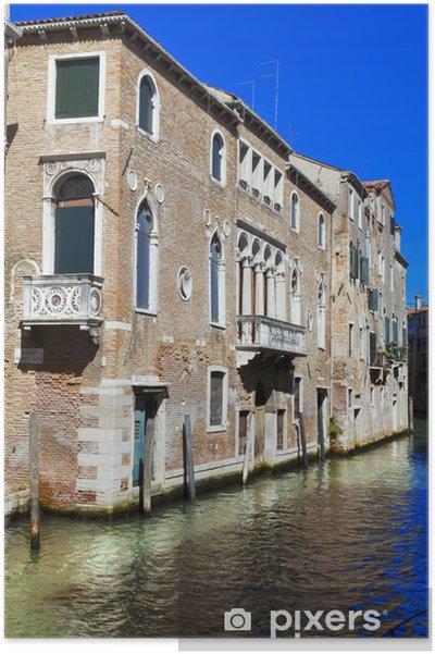 Plakat Wenecja - Miasta europejskie