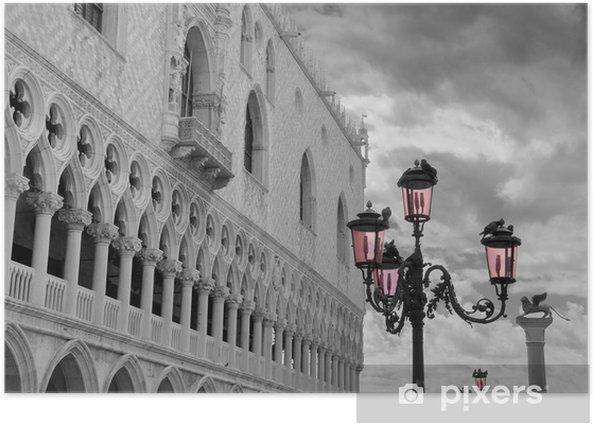 Plakat Wenecja - Zabytki