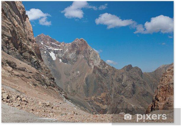 Plakat Widok na góry - Natura i dzicz