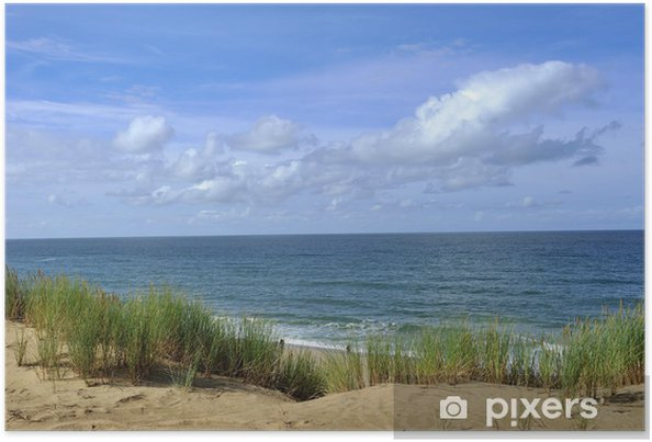 Plakat Widok na ocean Morze Północne - Tematy