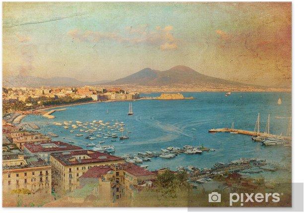 Plakat Widok na Zatokę Neapolitańską - Tematy