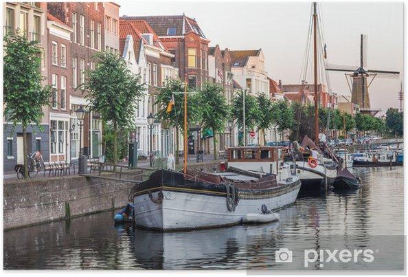 Plakat Widok w Rotterdam, Holandia - Europa