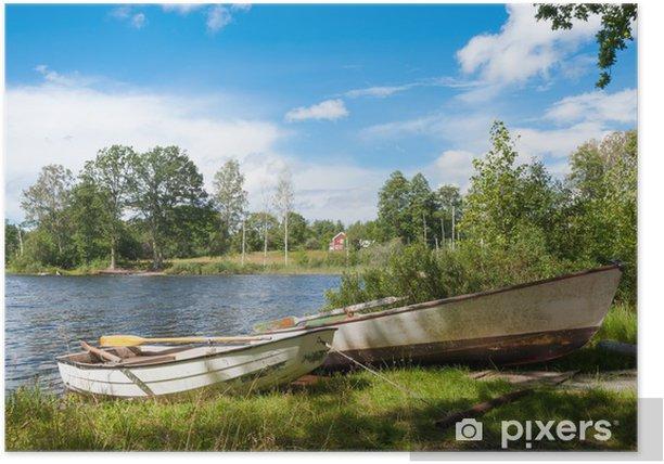 Plakat Wieś w Smalandii, Szwecja - Europa