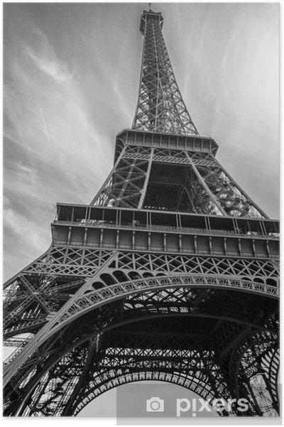 Plakat Wieża Eiffla - Budynki i architektura