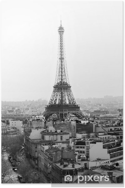 Plakat Wieża Eiffla - Tematy
