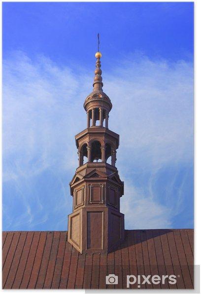 Plakat Wieża katedry - Niebo