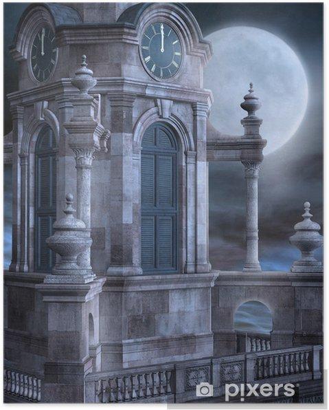 Plakat Wieża kościelna - Ezoteryka