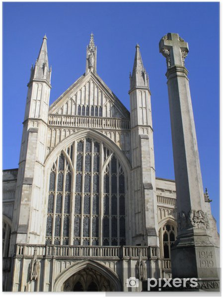 Plakat Winchester Cathedral - Europa