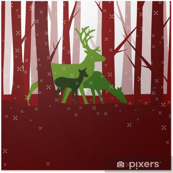 Plakát Wintertime - Mezinárodní svátky