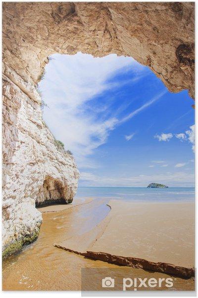 Plakat Wnętrze jaskini, włochy - Tematy