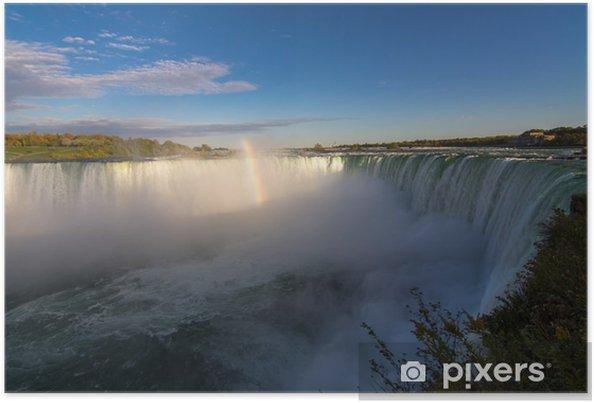 Plakat Wodospad Niagara - Ameryka