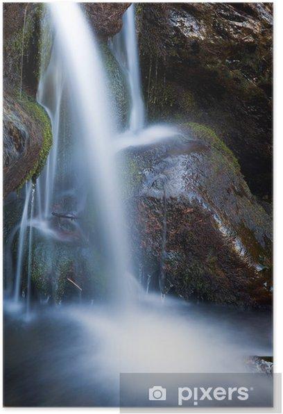 Plakat Wodospad - Cuda natury