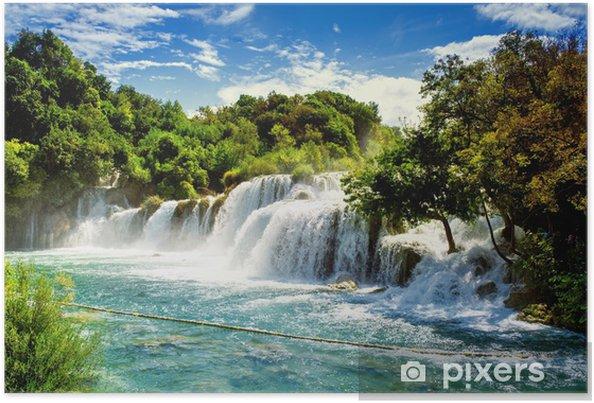 Plakat Wodospady Krka - Tematy
